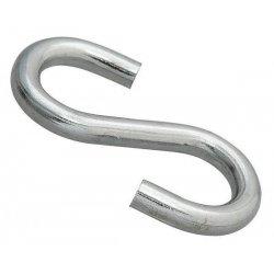 Крючок S-обр. 8мм оцинк.(1 шт)