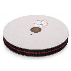 Ремень полипропиленовый 40 мм черный/красный (30 м)