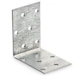 Крепежный уголок равносторонний 40х40х60х2,0мм оцинкованный