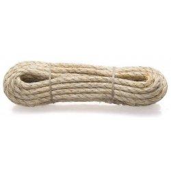 Веревка сизалевая крученая 6,0 мм (15 м)