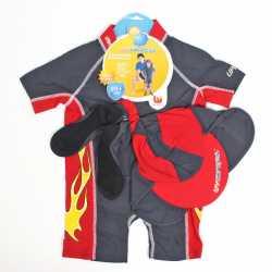Костюм для купания c защ. от ультраф. UV Carful солнцезащ. кепка и носки Bestway (20039)