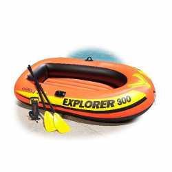 Лодка надувная 3-местная Explorer 300 до 186 кг 211*117*41 см, Intex (58332), 830-007