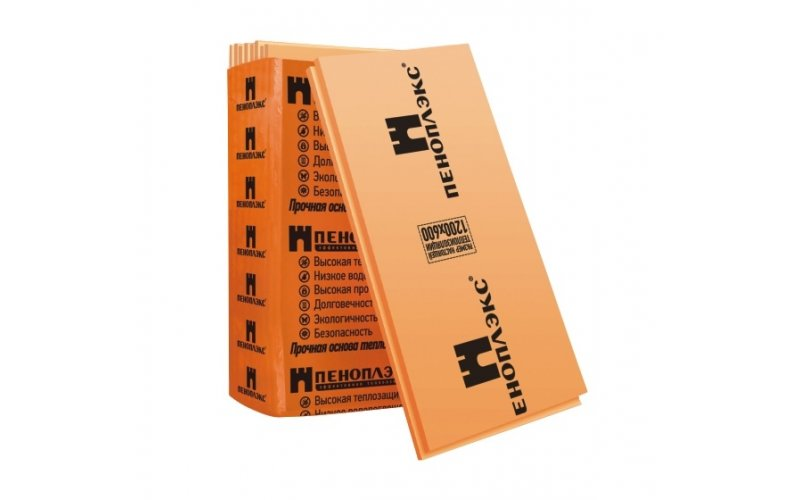 Теплоизоляционная плита Пеноплекс (40х600х1200)