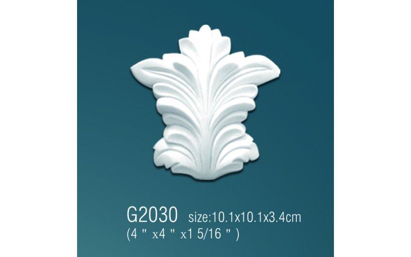 Орнамент из полиуретана G2030 10.1*10.1*3.4 cm