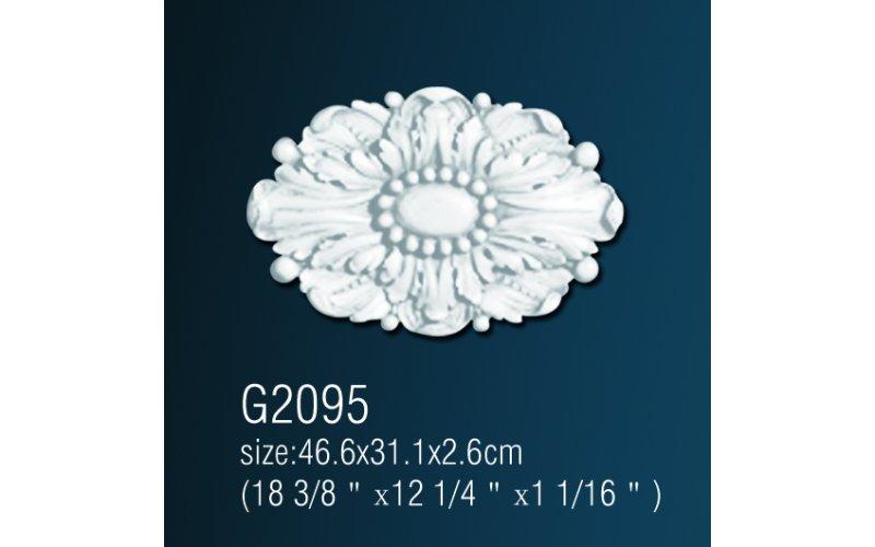 Орнамент из полиуретана G2095  45*30*3 cm