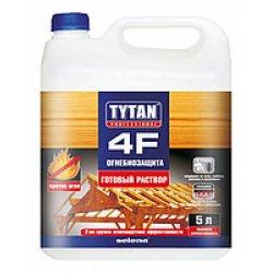 Огнебиозащитный (готовый раствор) 5л TYTAN 4F