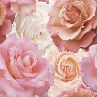 Керамическое панно: Wave Roses, 40x44, С1, многоцветное, (WA2F452DT)