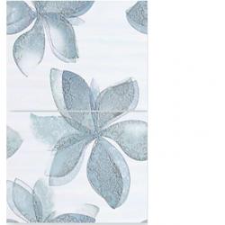 Керамическое панно: Aurora, 50x35, С1, светло-голубой  7мм (7шт) (AU2M492)