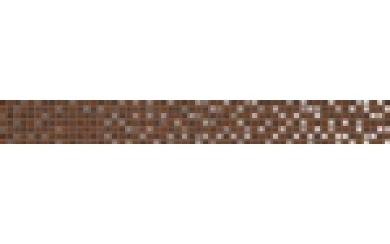 Бордюр: Escada, 5x44, Сорт1, коричневый  толщ.7,5мм, (ES1J111)