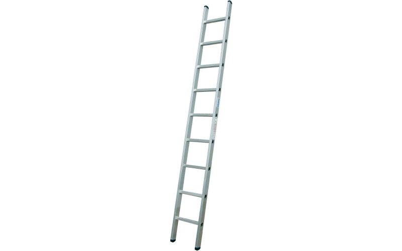 Алюминиевая приставная лестница 12 Corda  Н=3,35/4,30м  (010124)