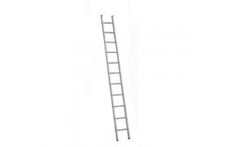Алюминиевая лестница 1х11 Н=3,07/4,17м   (5111)