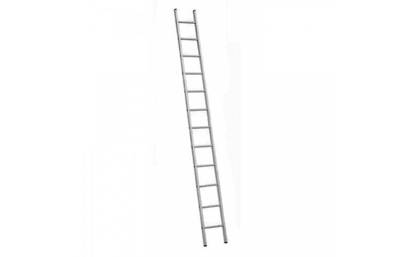 Алюминиевая лестница 1х13 Н=3,6/4,7м  (5113)