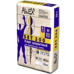 Плиточный клей СЭТ-300 ALINEX 25кг