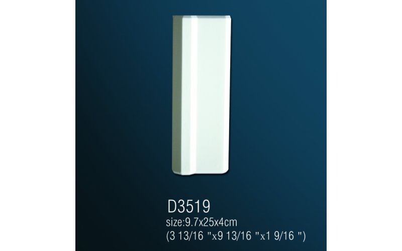 База из полиуретана D3519 (9.7x25x4см )
