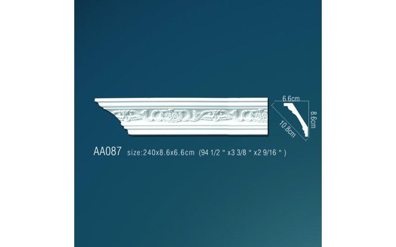 Плинтус потолочный с рисунком АА087 240х8,5х6,5 см