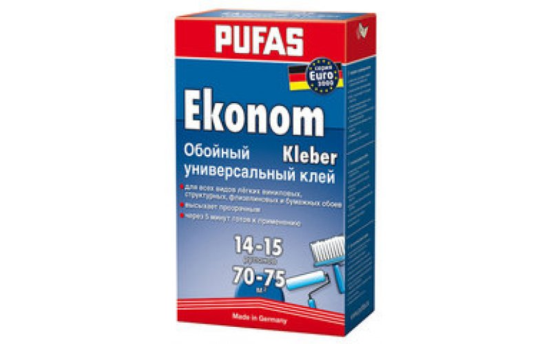 Клей Pufas Ekonom Kleber 500гр.