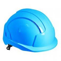 Каска Evolite, синяя, вентилируемая