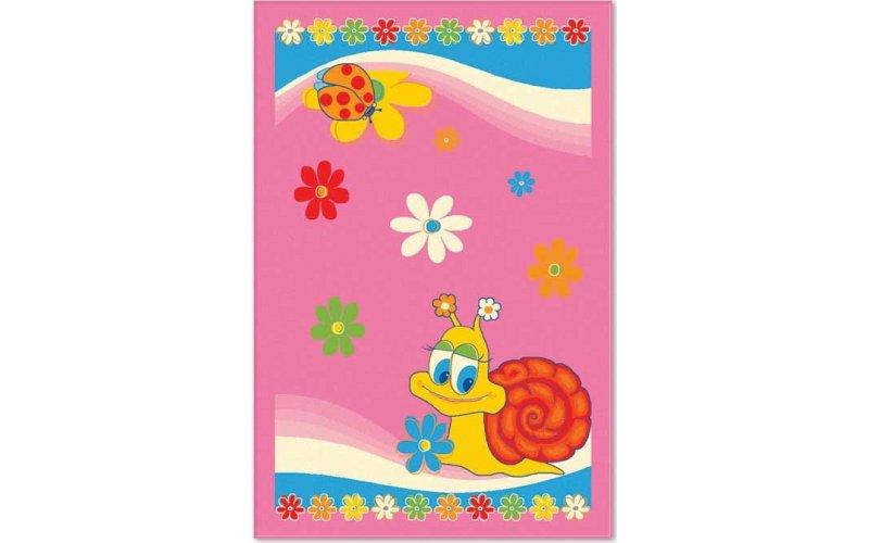 Ковер Aquarelle KIDS 1,37х2,00  Розовая улитка
