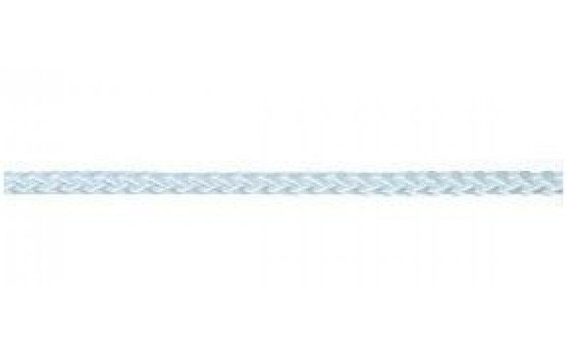 Верёвка 4 мм полипропилен, белая,синяя плетёная,