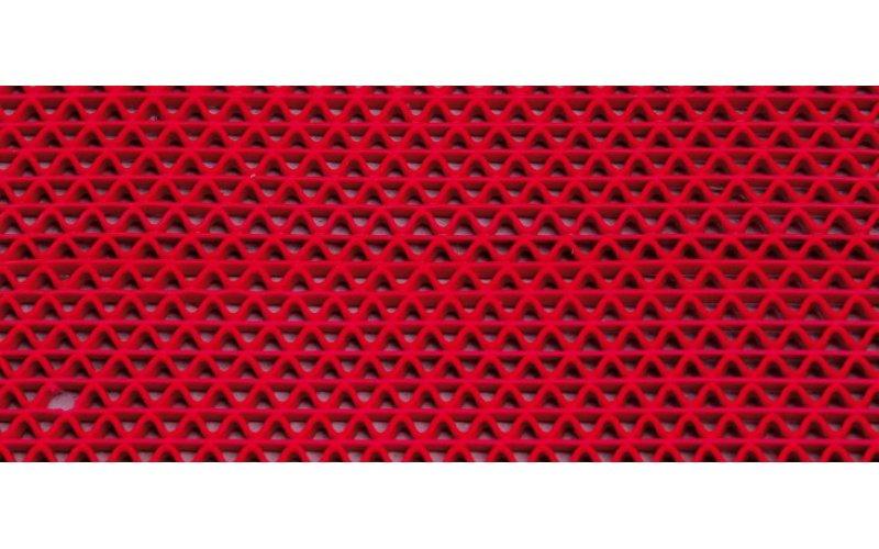 Дорожка PVC Aqua Step на входную группу  S- 8мм B-0,9м L -12м   Красная