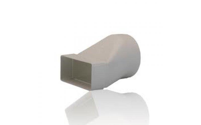 Соединитель для воздуховода: плоского канала с круглым 612СП10КП