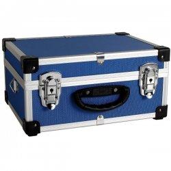 Кейс алюминиевый   голубой  (320х230х155) PRM10106BL