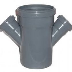 Крестовина канализационная 45° 110-50 Jakko