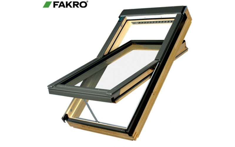 Окно мансардное Fakro FTS-V 94х140 с гибким окладом