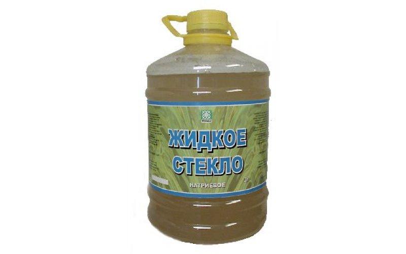 Жидкое стекло 1 л (натриевое)