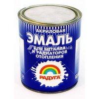 Эмаль Акриловая по металлу и для радиаторов  (3л)
