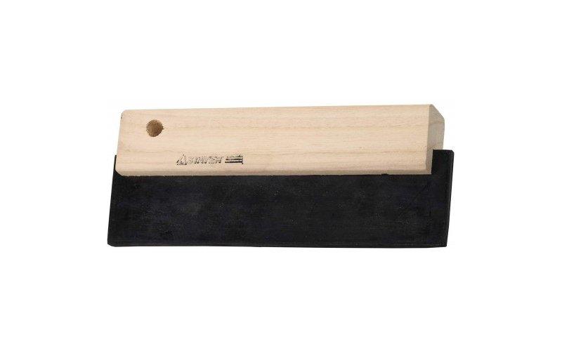 Шпатель STAYER для фуговки,резиновый черный,200мм