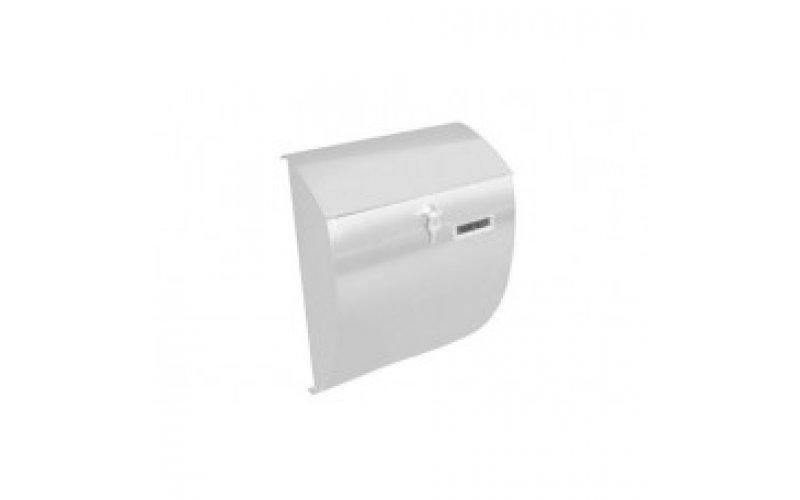Почтовый ящик  NICE металлический белый  BG.610.02
