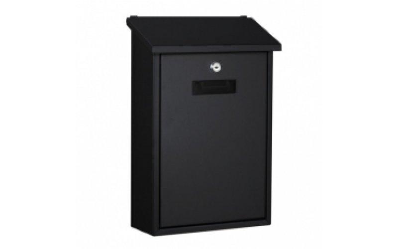 Почтовый ящик  RIO металлический  черный  BG.100.02