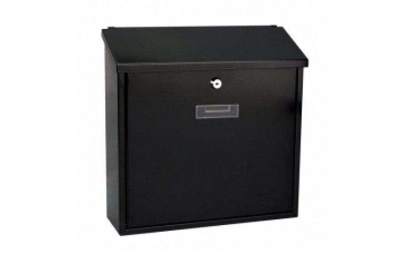 Почтовый ящик MONACO  металлическимй черный  BG.30