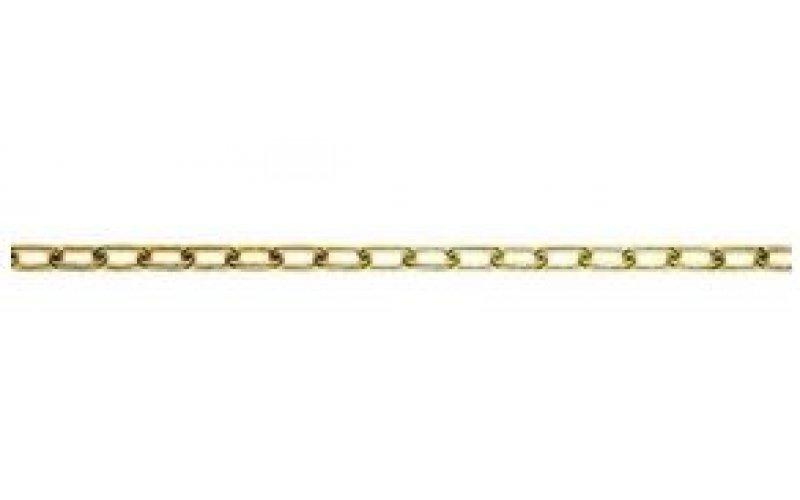Цепь из круглой стали  1,6 мм   латунь гальваническая, оцинк. хр