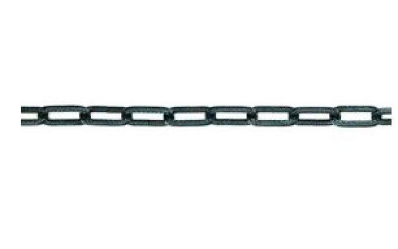 Цепь фасонная 2,0 мм  коричневая из скруч.проф. провода    цапон