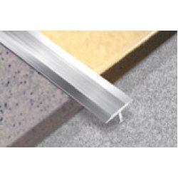 Алюминиевая Т-шина 325-01А 26мм серебро 2,5м