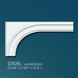 Дуга арочная D3526L (64x32x3см) (полиуретан)