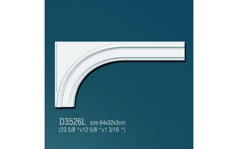 Дуга арочная D3526L (64x32x3см)
