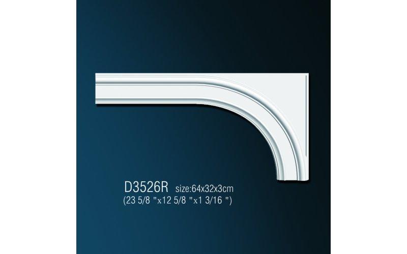 Дуга арочная D3526R (64x32x3см)