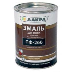 Эмаль ПФ- 266 ЛакраСинтез золотисто-коричневая  2 кг  Л-С