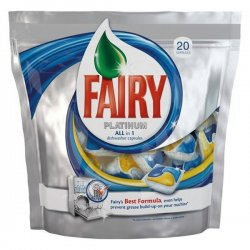 Fairy Platinum ALL in 1 ср.для ПММ 20шт.