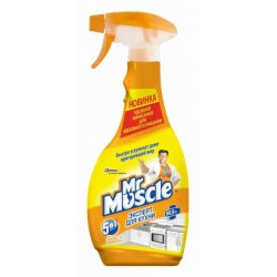 Mr Muscle для кухни Свежесть Лимона триггер 450 мл