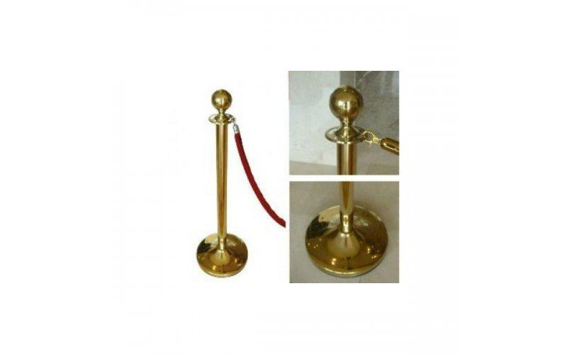 Декоративный стальной столбик (столб) нерж.  63 мм