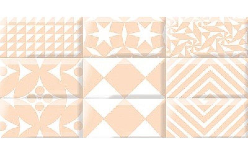 Azori Декор Вог беж Каре Лайт 40,5x20,1