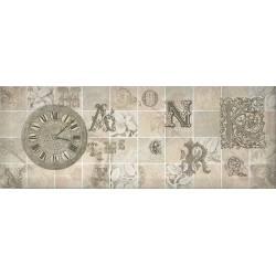 ANTICA декор серый 15*40 / Д 128 072-3 (20шт.)