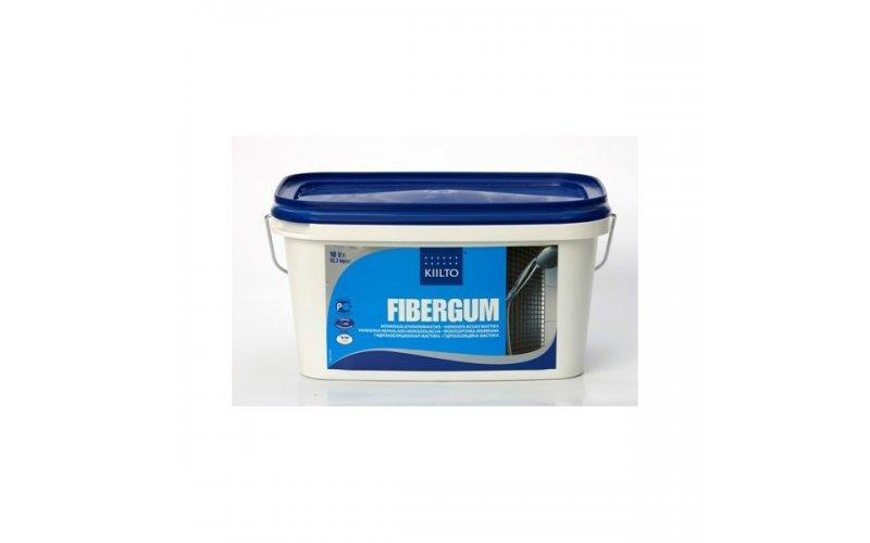 Kiilto Fibergum гидроизоляционная мастика 10 л 12,5 кг