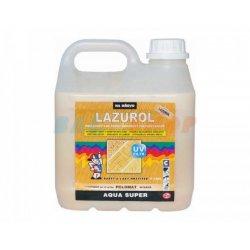 Лак для паркета водный V1305 Lazurol Super ПУ, матовый, 2кг