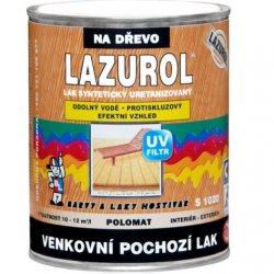 Лак для наружних работ S1020 lazurol venkovni полумат K040 2,5л