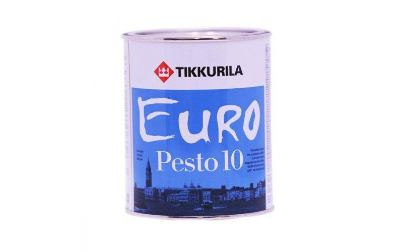 Износостойкая Водоэмульсия 0,9л для всех поверхностей Тиккурила PESTO 10